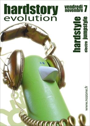 HARDSTORY Evolution - 07/11/2008 - guest: Dj SPAT Evolution_recto_rvb