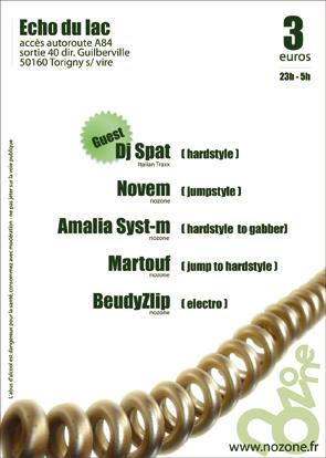 HARDSTORY Evolution - 07/11/2008 - guest: Dj SPAT Evolution_verso_rvb